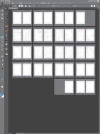 iPadでクリスタexを使っているのですが、1ページと2ページを結合して表紙と裏表紙を作りたいのですが、出来ますでしょうか?