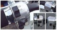 バイクの車種に詳しい方!このスイッチは何の車種のものでしょうか? (バーの径は22.2mmのようです。)お礼コイン100枚でお願いします!