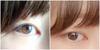 目の色が橋本環奈と同じくらい茶色いと言われたのですが、この目は平均より茶色いのでしょうか?  特に自分の目がすごい茶色!と思ったこともなく、髪色が目立って茶色なので「髪茶色いね」ば かり言われて目の色はあまり言われたことはありませんでした。肌も白いです。  みんなこのくらいの色だと思ってたので…