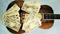 思いがけない臨時収入が¥^^¥ 年末に360万円程ジミおじさんの 口座に振り込まれます。大蔵省の 連れはその事を一切知りません。 質問: ジミおじさんの取るべき行動は!?  ①連れに内緒で念願のギターを買...