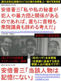 暴力団と交流をもち辞めさせた方が良いと思う日本の政治家は誰ですか?