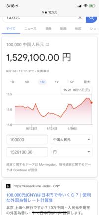 人民元 10万元 は日本円で 今現在約150万ですが 中国人からして10万元はどのぐらいの 価値になりますか? あと5万元の価値もも教えてください  一般人の場合 日本は月月収平均25ー30万で すが 中国は月収...