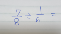 割り算、解き方を教えてください。