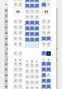 エアドゥの座席について教えて下さい。 足元が広く快適なので非常口座席を指定したいのですが、21Gと22Gではどちらが快適でしょうか? よろしくお願いします。