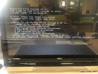 Windows7のパソコンで、iTunesをアップデートしようとしたら、このような画面が出てきて止まってしまいました。 故障ですか? 何か対策があれば教えて下さい。