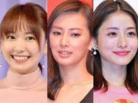 新垣結衣 北川景子 石原さとみ 誰の顔が一番好きですか?