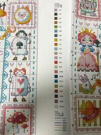 ネットでクロスステッチの刺繍キットを買ってみたんですがこれはどれが14CTでどれが11CTかわかるかたおられますか…?