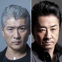 左:俳優・ミュージシャンの吉川晃司さん 右:俳優・ミュージシャンの大友康平さん   この2人は顔が似ていると思いますか?