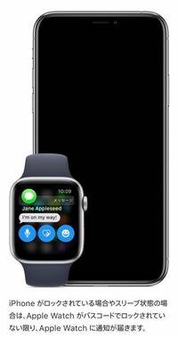 アップルウォッチ初心者です。 アップルウォッチでApple Payを使用するとパスコードが必要なのはわかりましたが、パスコードを設定してロックしていると通知が来ないのですか?