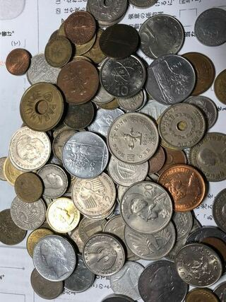 硬貨,価値,爺ちゃん,遺品,1970年代後半,80年代前半頃