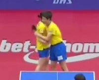 【セクハラ】 張本智和くんが、試合で勝利したどさくさにまぎれて、早田ひな様の乳の張り具合をハグで確かめたことは問題になっていますか?