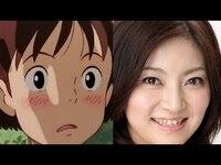 耳をすませばの月島雫の声優さんの「本名陽子」さんは実物もキレイと思いませんか?   スタジオジブリ・声優・近藤?監督、耳をすませば