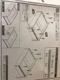 タンスの組み立てで説明書にはネジを取り付けると書かれているのですが、ネジをさす穴がありません。 やり方も間違っていないのですが 詳しい方教えてください。