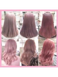 専業主婦なのに髪の毛をピンク色に染めていたらおかしいでしょうか? 友達にこういう色(画像の1番左下ような)にしてみたいんだと話したら、「美容師やアパレルならまだしも専業主婦でそんな色にしてたら頭おかし...