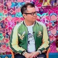 この緑のスカジャン、なんてブランドのものか分かる方いますか?