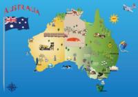 オーストラリアのアラスカ、ハワイ、カリフォルニア、フロリダと言ったら何処ですか?