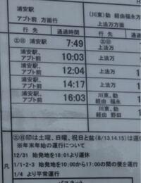 このバス停の時刻表に12/31日は始発地を18:01より運休って書いてあるんですが 10:03分のバスは乗れるって事であってますか?