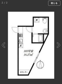 値段的に見合う部屋を探していて、このような賃貸を見つけたのですが、やはり住みにくいでしょうか? 住むと決めた場合ベッドや、テレビ、家具などどの様に配置すれば住みやすいでしょうか。 よろしくお願いいたします。