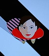news zeroのオープニング「有働由美子」アナの似顔絵、どう素敵かにゃ。可愛いかにゃ。