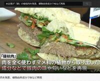 日本国内で植物由来でできた疑似肉を食べるところはあるのでしょうか。 いかがでしょうか。 もしあれば、店名などを教えていただければと思います。 ・ ・ ■ 米企業が「豚」の疑似肉を発表、植物由来成分で味など再現 ・ https://www.youtube.com/watch?v=8hgcba80Wwo