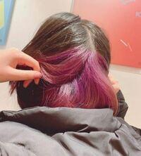 ブリーチ1回の紫色の上に黒染めをしたいのですが、市販の黒染めでも色は入りますか?やはり市販だとすぐ落ちたりしますか?