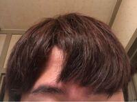 この髪型はおかしいですか? もし、おかしいのであればどこを直せば良くなるか教えていただきたいです!!