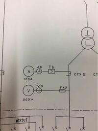 キュービクル教えてください。 電流計についてるサーマルは電流計保護切り離しですか?