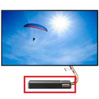 レノボのデスクトップのPCにお詳しい方へお伺いをいたします。 ・ 画像の赤い枠で囲んであるのが、この手のPCの場合は「本体」になるのでしょうか。 ・ いかがでしょうか。