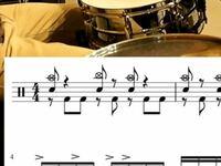 bpm180でこのリズムはフットダブル奏法いりますか?