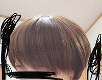ウィッグを買ったのですがとても髪の量が多いです。 軽くしたいのですが、どうしたらいいのでしょうか? ウィッグとなると美容院などではなく、自己処理ですよね…?  (2000円ほどのものです。)
