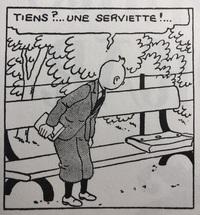 フランス語 serviette 書類かばん なぜ    フランス語の serviette には、「ナプキン」「タオル」「書類かばん」という意味がありますよね。なぜかばんという意味があるのですか? ナプキンとタオルは分かりま...