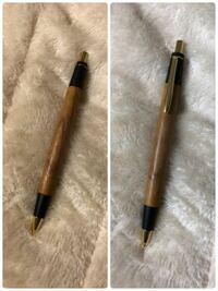 今日届いた野原工芸さんの欅のシャーペンです! 木目結構かっこいいですよね?