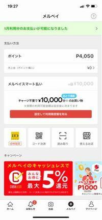 メルカリでポイントが4000程あるのに後払いの支払いで使えないのですがなんでか分かる方いませんか?