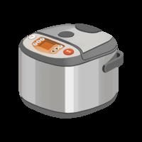 一人暮らしでご飯を炊く場合は 炊飯器で炊いてますか? 炊飯鍋で炊いてますか?  炊く時は、その日に食べる分だけ炊きますか? 数日分まとめて炊いて保存しますか?