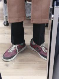 メンズです ズボンのMサイズを買ったのですが少し短く意図せずくるぶしが見える形となってしまいました これはLサイズを購入するべきだったでしょうか?