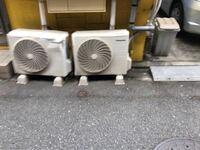 エアコンの室外機が誰かの嫌がらせなのかボコボコに凹んでしまいました。 修理に出すのか それとも交換になるのでしょうか?