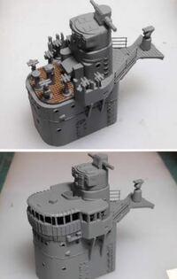 旧日本海軍の艦隊型駆逐艦は 最終型の島風まで艦橋トップに防空指揮場が見当たりませんが、 空襲時に艦長はどこで敵機の動向を確認し、操艦したのでしょうか?  秋月型と松型は艦橋トップに指揮場らしき場所があ...