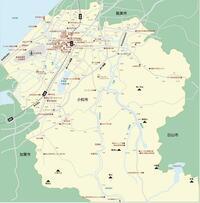 石川県小松市は県下第二の都市ですが、空港があること以外は特に何の特徴もないので国道8号・北陸自動車道でスルーされているのですか?