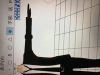MMD初心者です。 PMXエディタで体型調整をしていたところ、関節だけ細くなってくれません。どのように対処したら良いのでしょうか。
