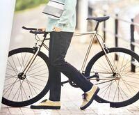 この自転車どこのメーカーのものか分かる方いらっしゃいますか?  どうか、宜しくお願い致します。