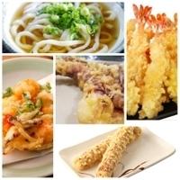 うどんやそばにはどんな天ぷらを載せますか?