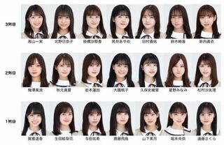選抜 26 乃木坂