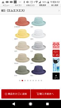 ブルーベース夏に似合う帽子の色はどれですか? ブルベ、サマー