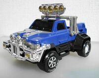 激走戦隊カーレンジャーのブルーのマシンみたいな車って近いやつありますか? こんな車にのってみたいです!!!