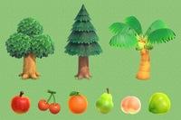 あつまれどうぶつの森にて、 私の島のフルーツの特産品がリンゴで、 その後にモモ、さくらんぼ、ヤシの実を手に入れましたが、 オレンジやナシは今のところ一向に出てきません。 そんな中、 住民からはオレン...