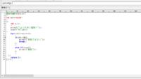C言語で素数判定プログラムを作りたいのですが、画像のようなプログラムでは実行結果がすべて「素数ではない」と表示されてしまいます。  改善点を教えてください