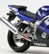 バイクの車検について。 バイクのマフラーを写真の赤線部分をカットして、フランジを溶接し、ボルトでサイレンサーの取り外しを可能にしたマフラーは車検に通りますか? ご回答よろしくお願いいたします。