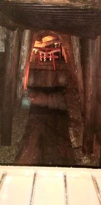 以前足尾銅山へ行き、その中へトロッコのような電車のような乗り物で入り見学したのですが、その途中脇道のような所へ入っていった所に賽銭箱?がありそれより先に進めず、その奥の方に鳥居があ り神社のようにな...