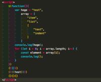 Visual Studio Codeで文字の色が全部同じでやりづらいです。下の画像のように文字の色を変えるにはどうすればいいですか?