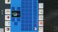 マインクラフトJAVAエディションでのバグなんですが、 クリエイティブモードでサバイバルインベントリの背景色が青色になっています。 テクスチャはデフォルトなんですが、わかる方いらっしゃ るのであれば教えていただくと幸いです。